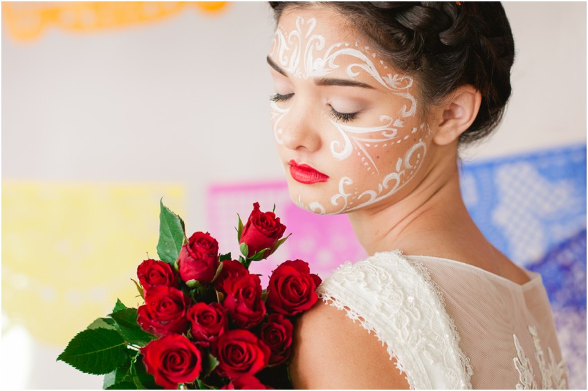 Day of The Dead Bride: Styled Shoot